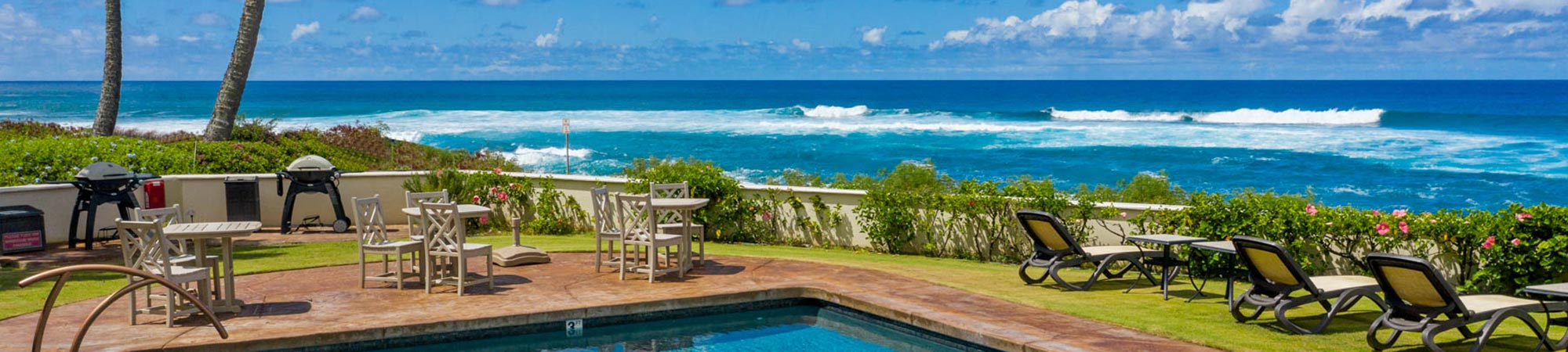 Alihi Lani oceanfront pool